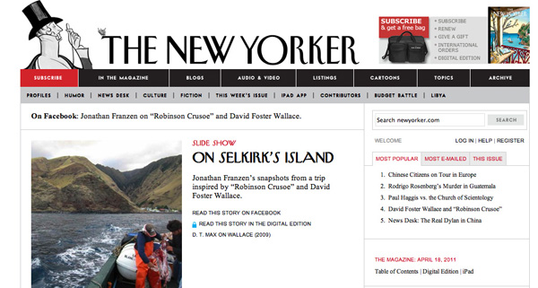 The New Yorker Home Page