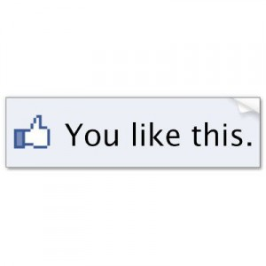 Facebook button You Like This