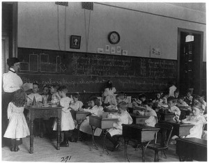 The first school room