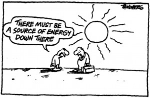 solar power cartoon