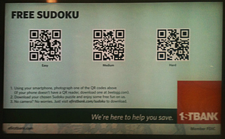 Bank Using QR Codes