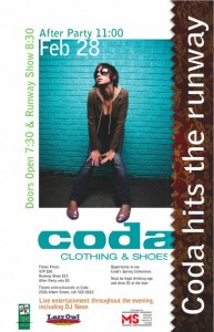 Coda Hits The Runway
