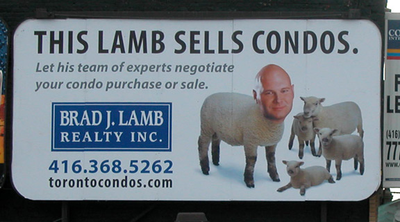 This Lamb Sells Condo