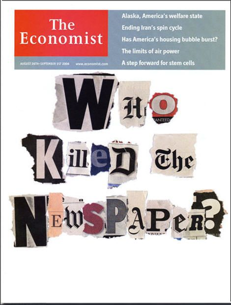 WhoKilledTheNewspaper-The Economist