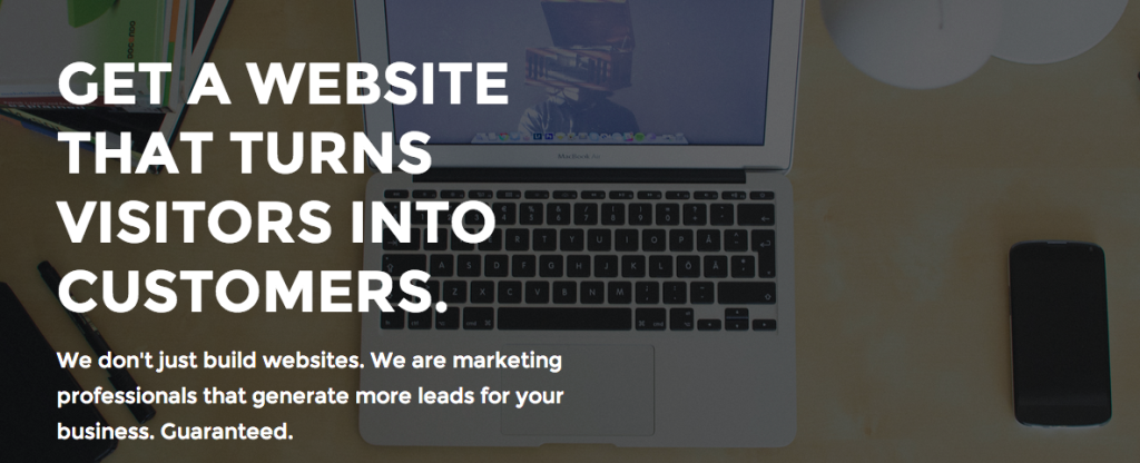 Get a website that turns visitors into customers